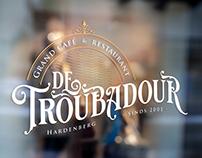 Rebranding Troubadour - Grand café