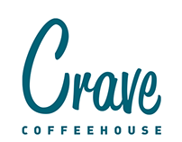 Crave Coffeehouse Re-branding