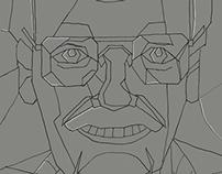 Portrait of Stan Lee