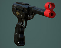 Condor gun - Low Poly