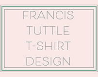 Francis Tuttle T-Shirt Design