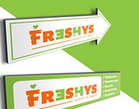 Branding for Freshys - Health Food Store