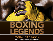 Boxing Legends flyer, South Carolina