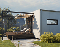 3D visualization of the private house