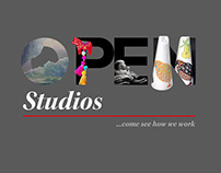Fire Station Creative Open Studios poster