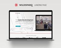 Wildsparq Landing Page