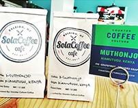 Logo - Sola Coffee . Cafe / 2014