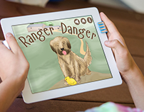 Ranger Danger - Illustrations for childrens iPad book