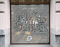 adidas samba - adidas x blanc