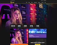Djarii.tv - Influencer Website