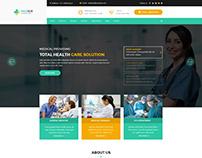 Medico - Hospital and Health PSD Template