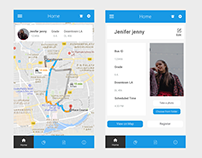 Mobile Application Design - STS Parent App