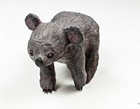 Papier-mâché Koala
