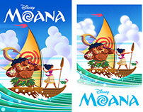 Moana: Official collab with Disney & Regal Cinemas