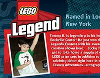 LEGO LEGENDS CONTEST: Magazine Ad