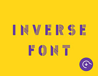Inverse Free Typeface