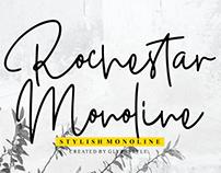 Rochestar - Free Monoline Script Font