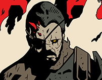 Hellboss - MGSV Illustration