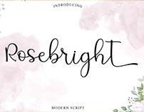 Free Rosebright Script Font