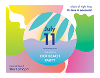 Hot Beach Party | Modern and Creative Templates Suite