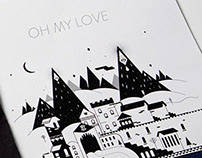 Oh My Love Brand Collateral