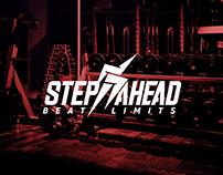step ahead rebranding