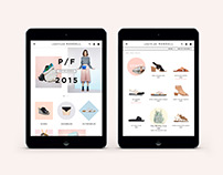 Loeffler Randall Website Redesign
