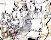St. Petersburg transport sketches