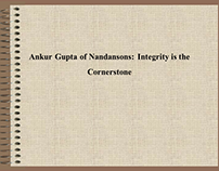 Ankur Gupta of Nandansons: Protecting the Earth