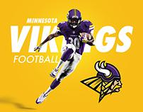 Minnesota Vikings Rebrand Concept