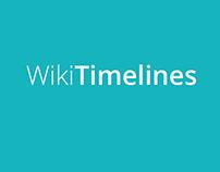WikiTimelines Website