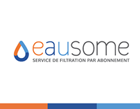 Eausome - Visual identity