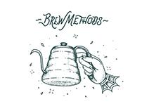 Coffee Flash Letterpress Sheet