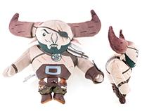 Dragon Age Iron Bull Plush