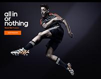Adidas microsite format
