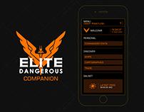 Elite Dangerous Companion – App Concept