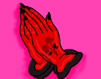 Devil Praying Hands