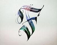 Experimental Typo vs Calligraphy