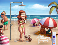 Nivea Sunscreen Waterproof