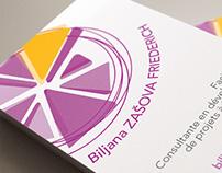 Charte graphique de Biljana Zasova Friederich