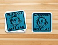 Sticker Designs | Metropole Beer Lab