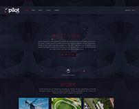 Concepto sitio web pilotview