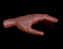Ręka - sculp.