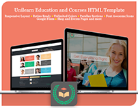 UniLearn - Education and Courses HTML Template
