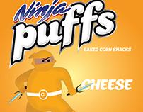 Ninja Puffs - Tropical Heat
