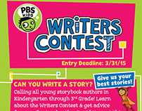PBS Kids Writers Contest Print AD