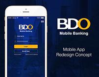 Banco De Oro (BDO) Mobile Banking Redesign concept