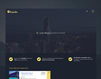 Expedia Website