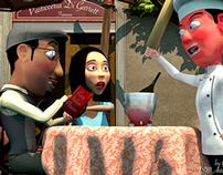 """""""The Cafe Italiano"""" - Mr. G and Daisy"""