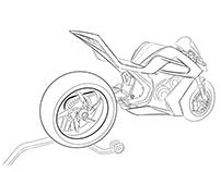 InkTober 2016 Automotive Sketching